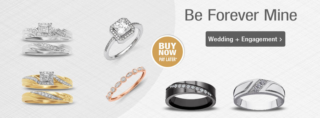 Show them they're forever yours with Wedding + Engagement Jewelry. Shop now.