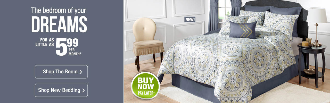 The bedroom of your dreams is at Stoneberry for as little as $5.99 per month.