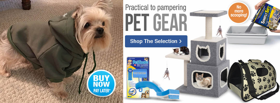 Practical to pampering pet gear. Shop the selection.