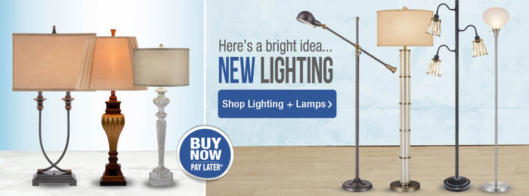 Here's a bright idea... new lighting from Stoneberry. Shop now.