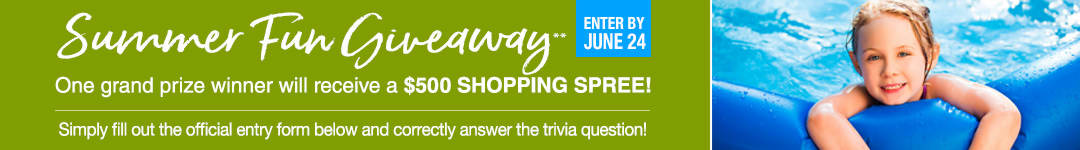 Enter to win a $500 Shopping Spree on Stoneberry.com