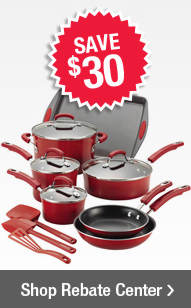 Save $30 on select cook and bakeware