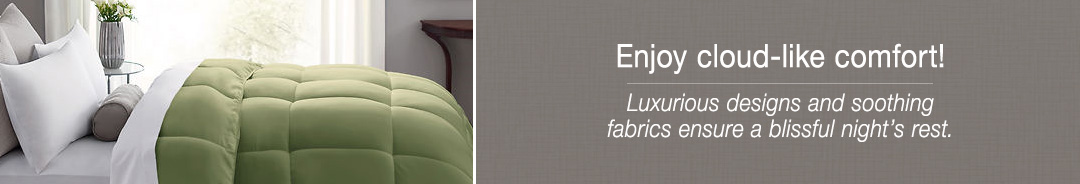 Enjoy cloud-like comfort! Luxurious designs and soothing fabrics ensure a blissful night's rest.