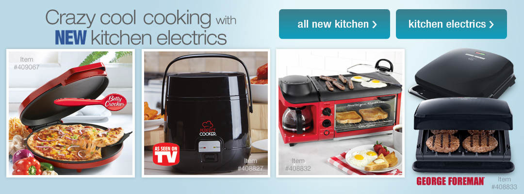 Crazy cool cooking with new kitchen electrics!
