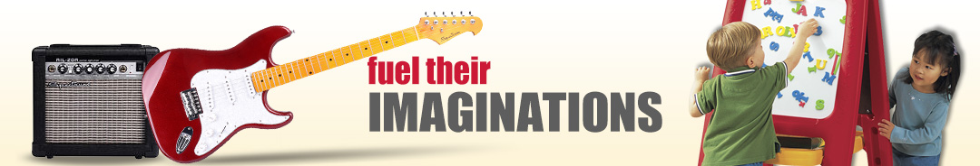 Fuel their imagination with toys