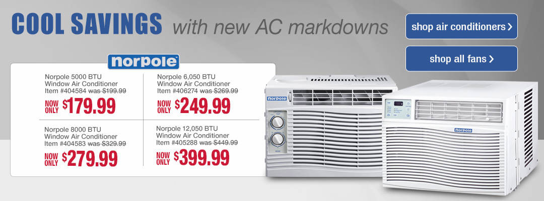 Fans and Air Conditioners to help you breeze through summer in comfort
