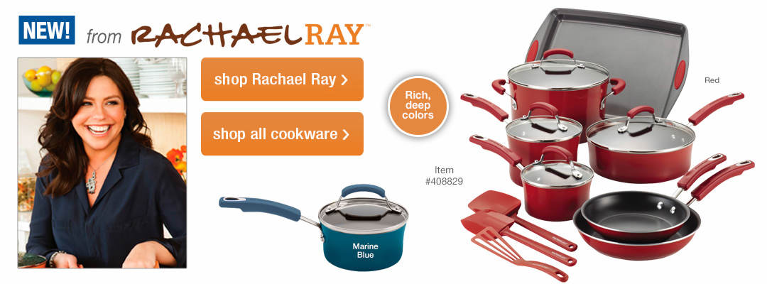 Shop our selection of NEW cookware items from Rachael Ray