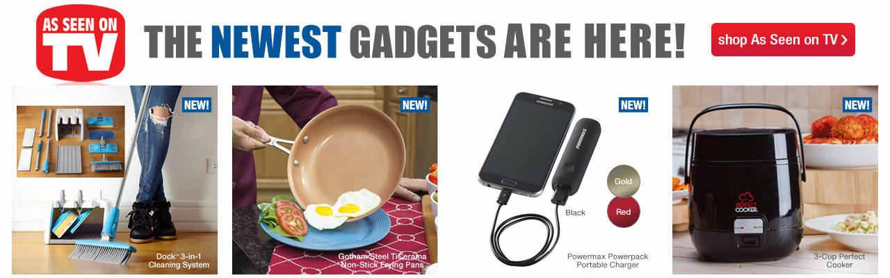 The newest As Seen on TV gadgets are here!
