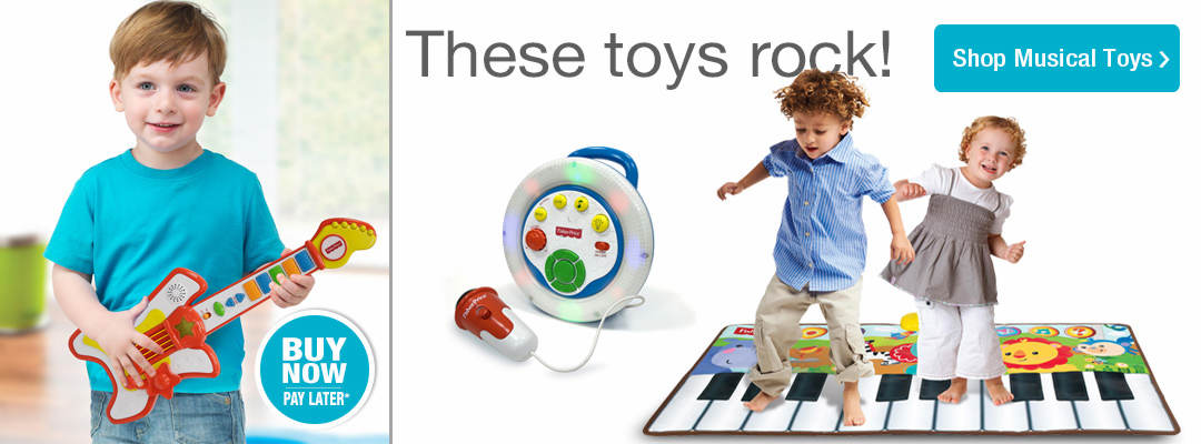 These toys rock! Shop musical toys now.