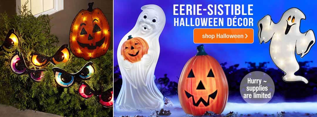 Shop Eerie-sistable Halloween Decor
