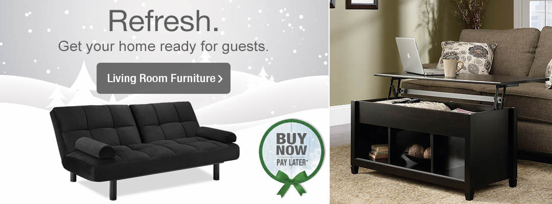 Get your home ready for guests today, pay later. Shop Living Room Furniture.