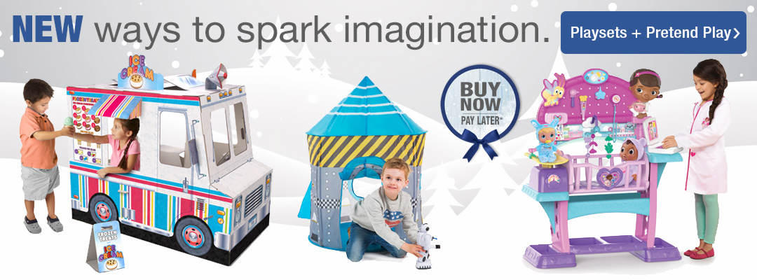 New ways to spark imagination. Shop playsets and prentend play now.