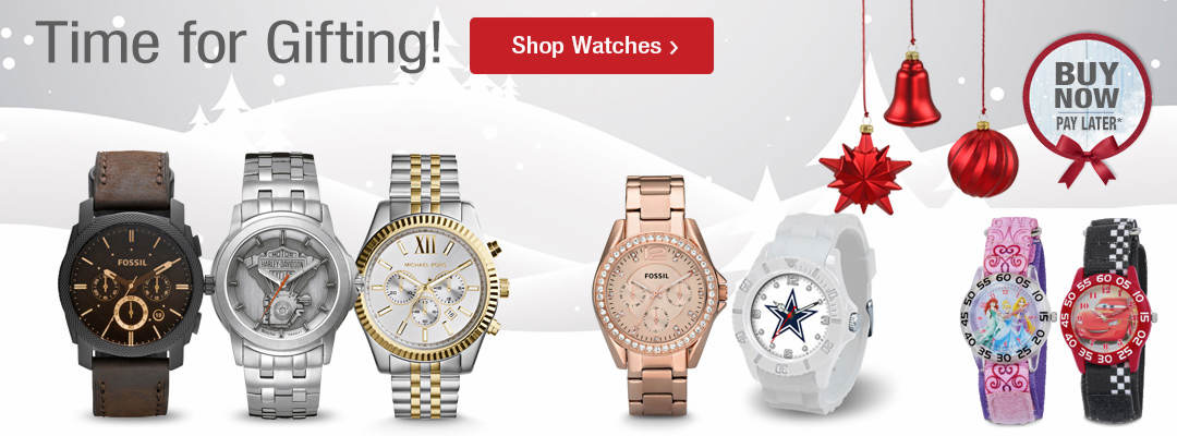Time for gifting. Shop watches now.