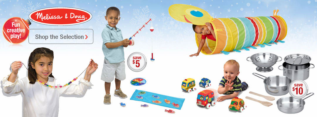 Shop our selection of creative play toys from Melissa and Doug