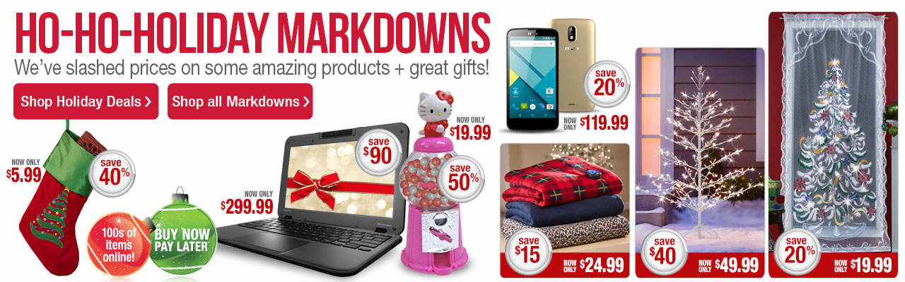 Ho-ho-holiday markdowns. We've slashed prices on some amazing products + great gifts.