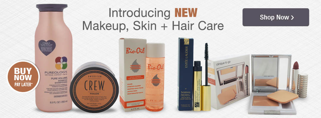 Introducing New Makeup, Skin and Hair Care Products. Shop now.