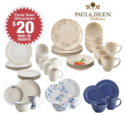 Shop Paula Deen's 16-piece Dinnerware Sets