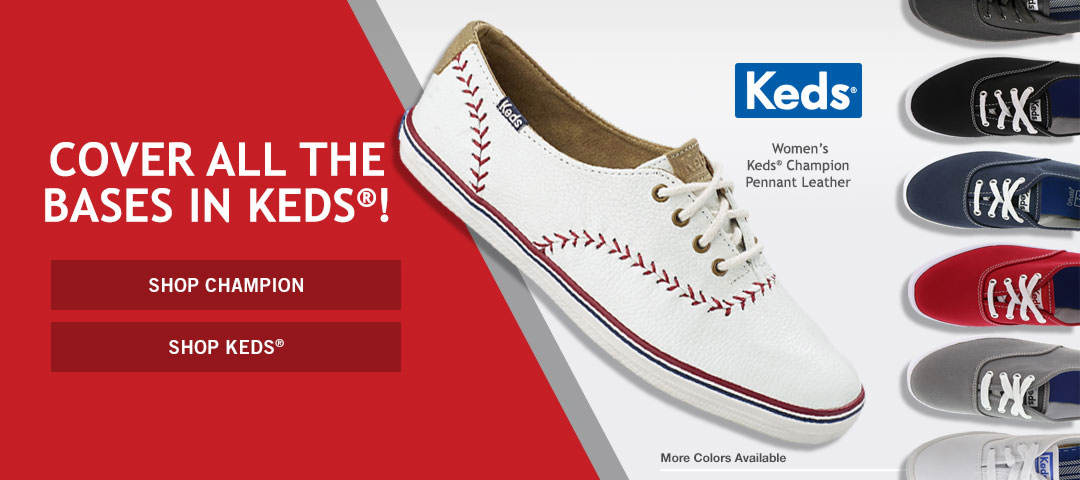 Cover All The Bases in KEDS® - Shop KEDS® Now!