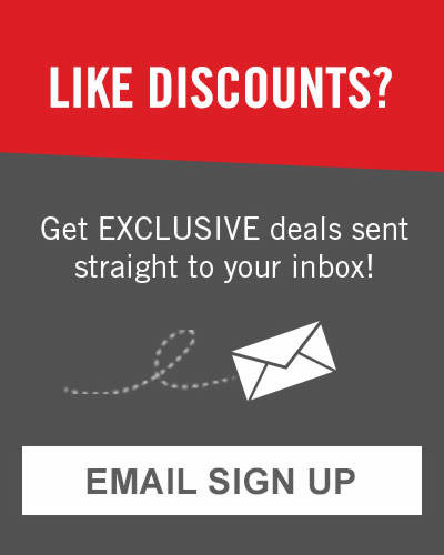 Get exclusive access to promotions straight to your inbox. Sign up for emails now.