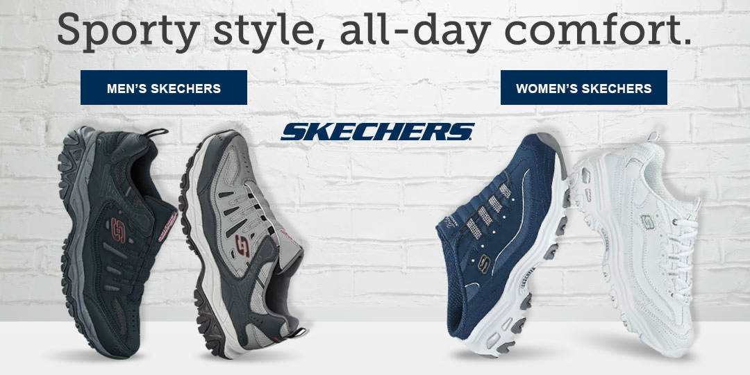 Sporty style with all-day comfort. Shop Skechers brand styles for Men and Women.