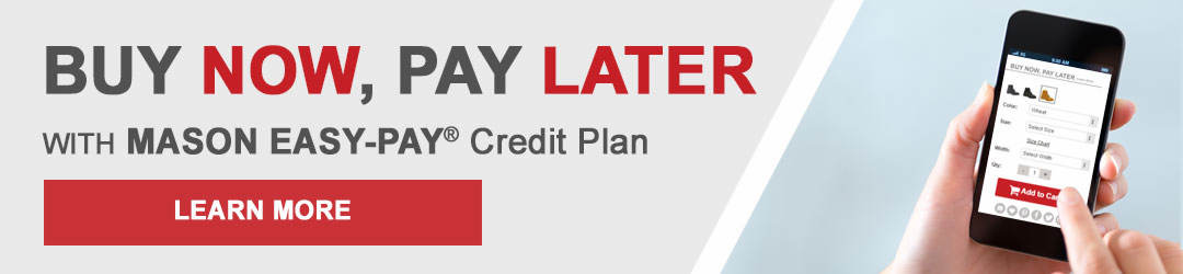 Buy Now, Pay Later with Mason Easy-Pay Credit Plan