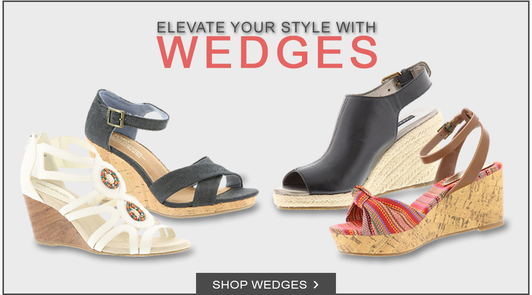 Elevate you Style with Wedges - Shop Wedges.