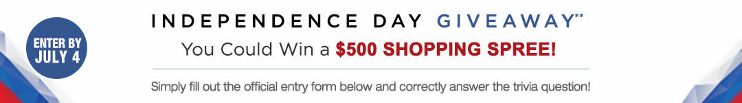 Enter to win a $250 Shopping Spree from Auditions Shoes Independence Day Giveaway