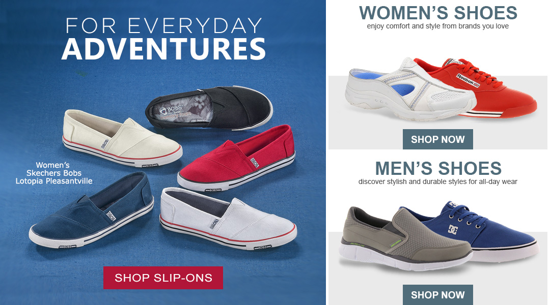 For Everyday Adventures - Shop Slip-ons.