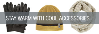 Stay Warm with Cool Accessories - Shop Now.