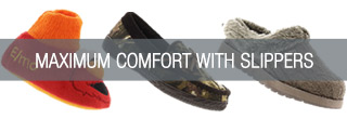 Maximum Comfort with Slippers - Shop Now!