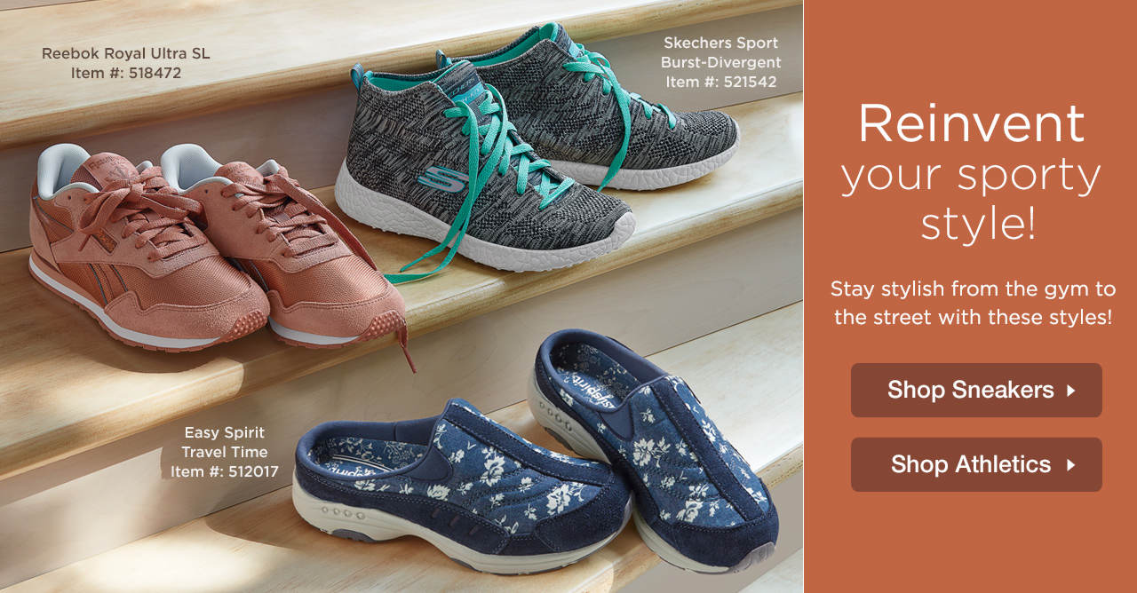 Shop Athletics and Sneakers