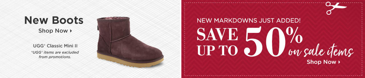 Shop New Boots and Items on Sale!