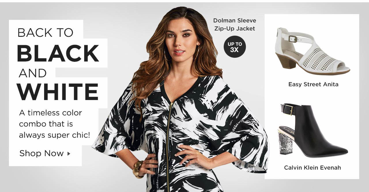 Shop Black and White Styles