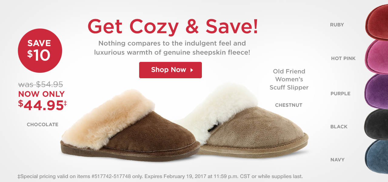 Shop Old Friend Scuff Slipper
