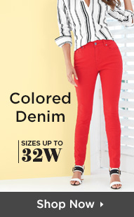 Shop Colored Denim Up To Size 32W