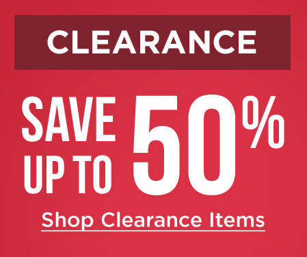 Shop Clearance Items