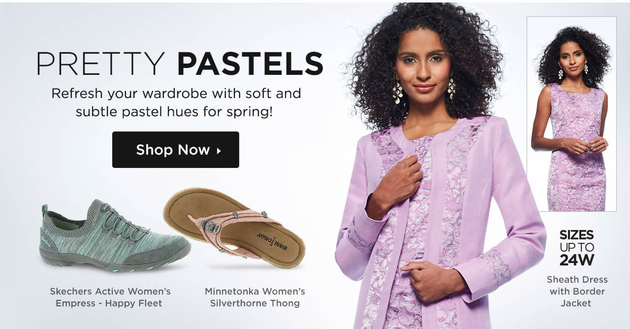 Pretty Pastels - Refresh Your Wardrobe With Subtle Pastel Hues!