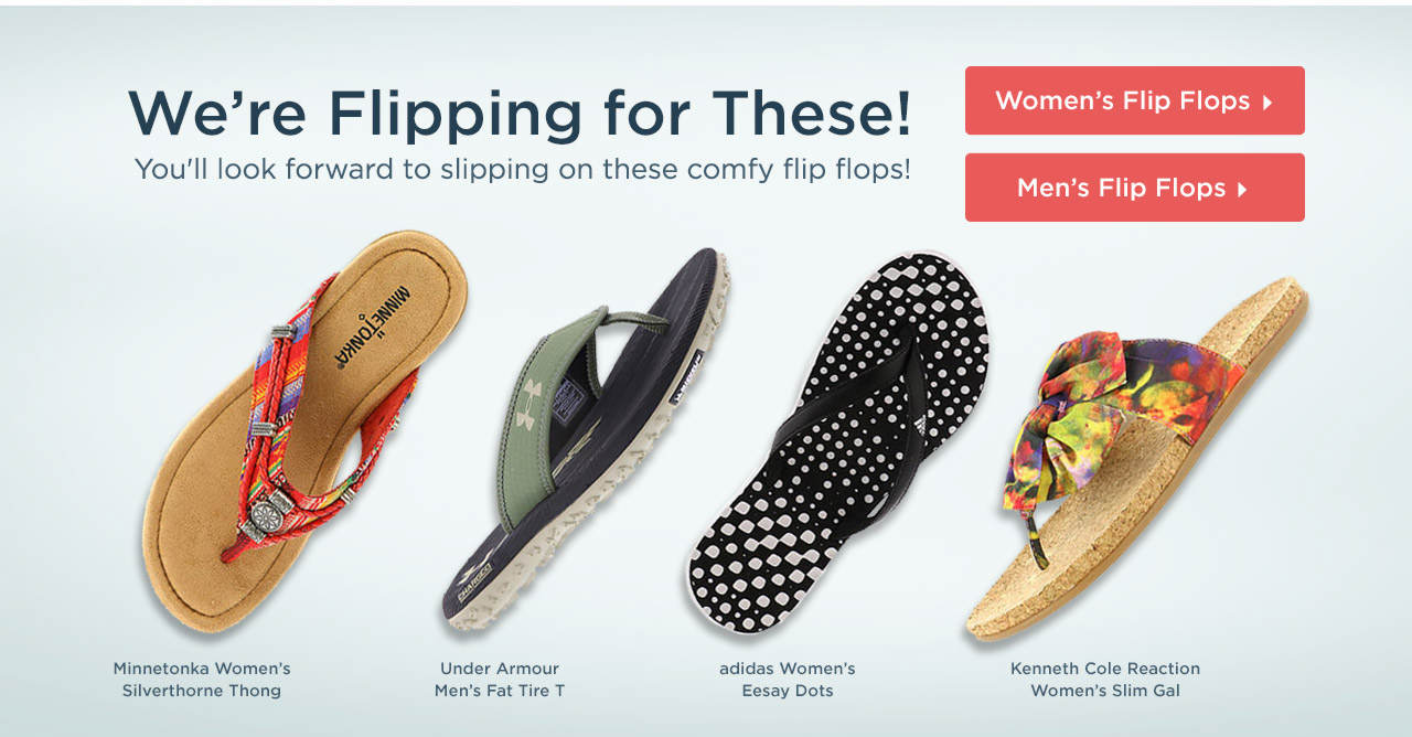 Shop Women's and Men's Flip Flops