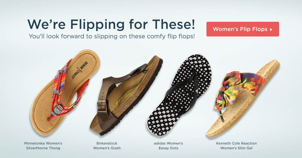 We're Flipping For These! Shop Women's Flip Flops