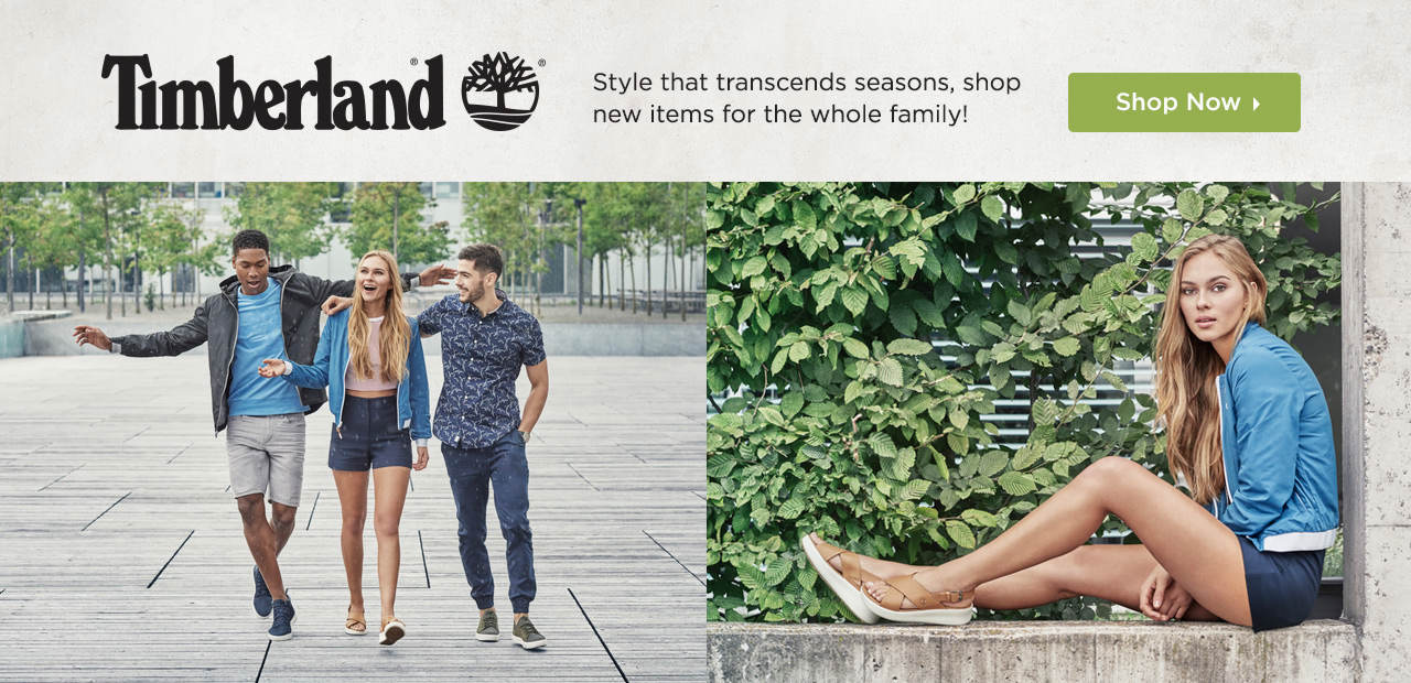 Timberland - Style that transcends seasons! Shop new items for the whole family.