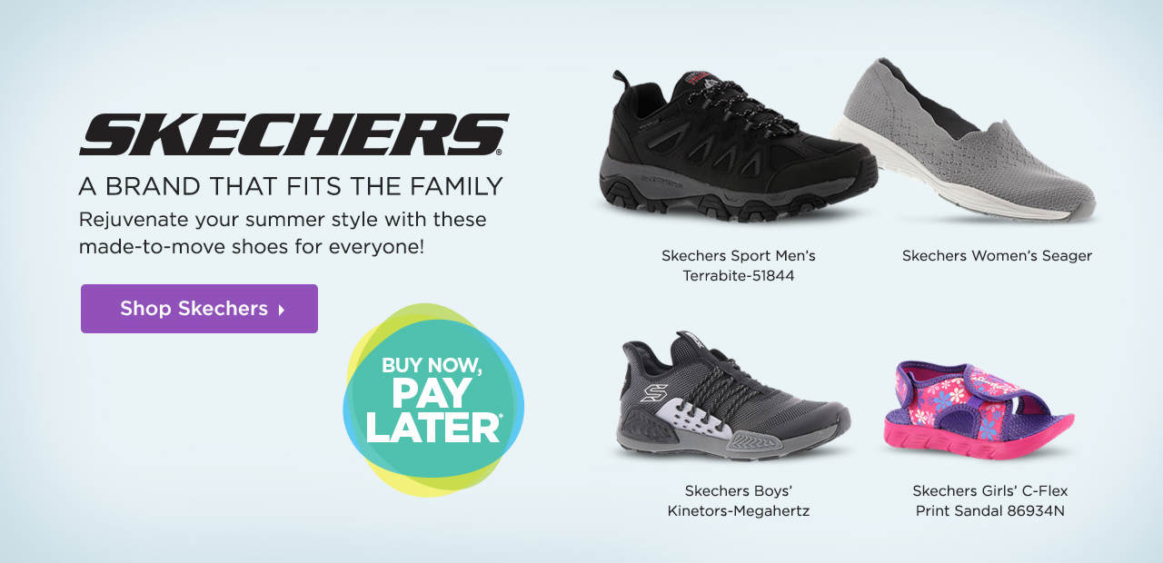 Skechers - A Brand That Fits The Family! Shop Now