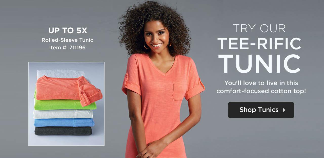 Shop Women's Tunics