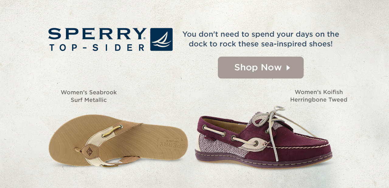 You don't need to spend your days on the dock to rock these sea-inspired shoes! Shop Women's Sperry Top-Sider