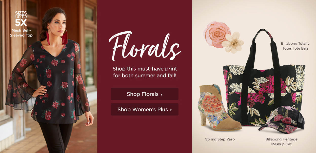 Florals - Shop this must-have print for both summer and fall!