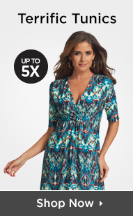 Shop Tunics Up To 5X