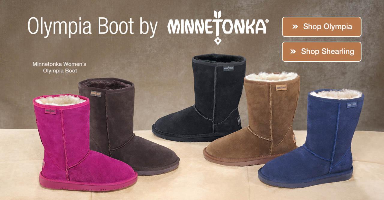 Shop Olympia Boot by Minnetonka