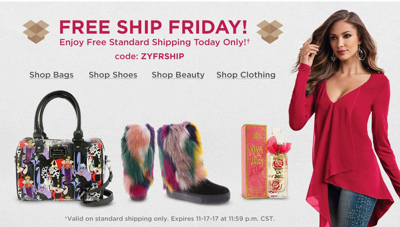 Free Standard Shipping With Code: ZYFRSHIP Until 11:59 p.m. CST on 11-17-17.