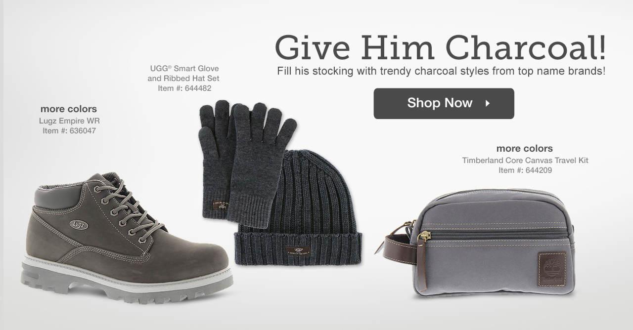 Shop Men's Charcoal Styles