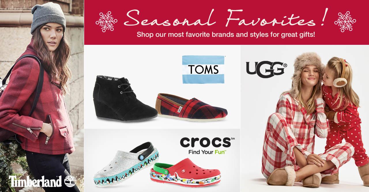 Shop Seasonal Favorites!