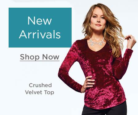 Shop New Clothing Arrivals